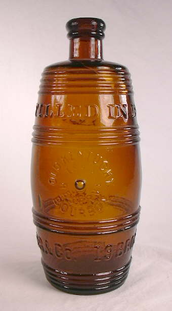 Hyperlink to an image of the Bininger Bourbon bottle.