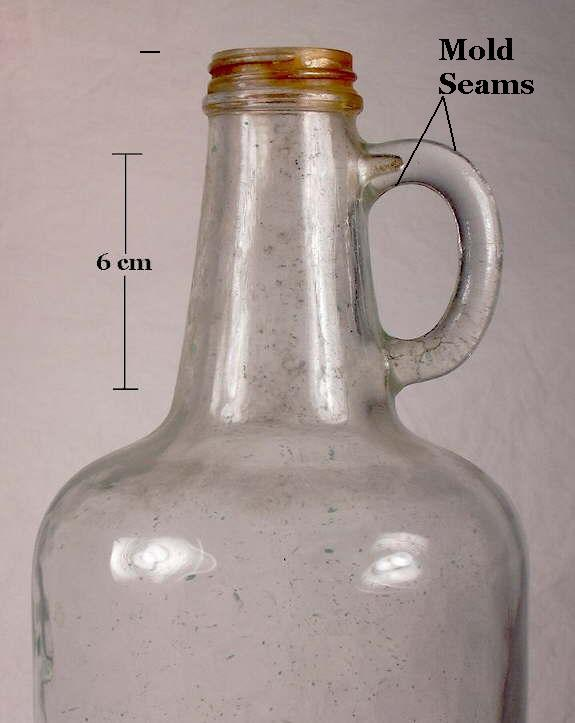 Hyperlink to a picture of a machine-made jug with a molded handled.