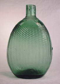 "Mid-western ""Pitkin"" flask; click to enlarge."