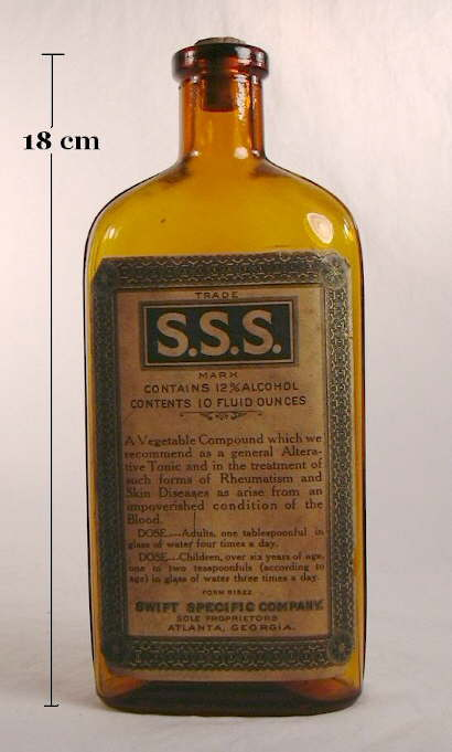 Hyperlink to an image of the SSS bottle.