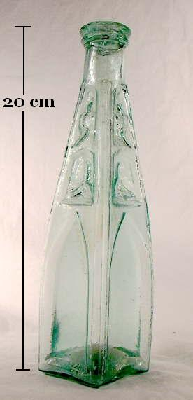 Hyperlink to an image of a cathedral peppersauce bottle from about 1860.