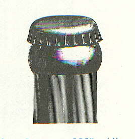 Period illustration of a crown cap on a crown finish; does not enlarge.