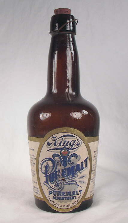 Hyperlink to a picture of the entire Kings Malt Tonic bottle.