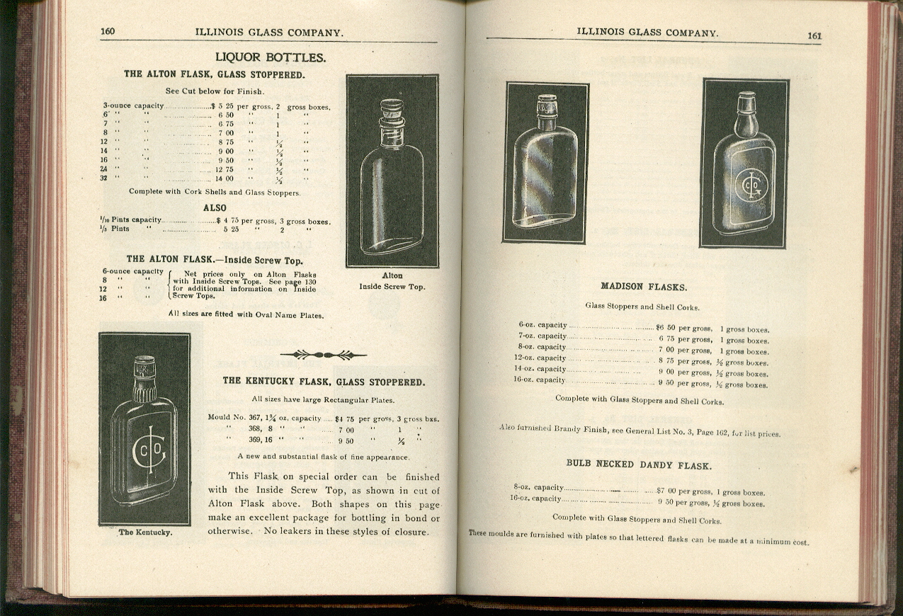 Hyperlink to pages 160-161 of the 1906 IGCo. catalog.
