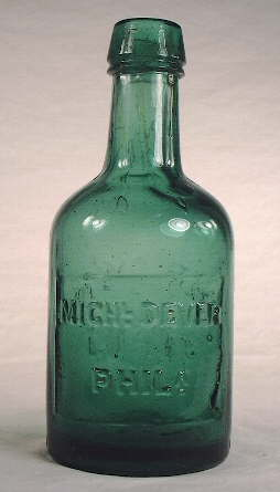 1860s stout bottle; click to enlarge.