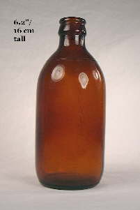 Stubby beer bottle from 1953; click to enlarge.
