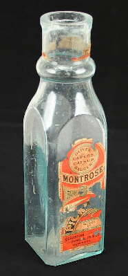 Early 20th century pickle bottle; click to enlarge.
