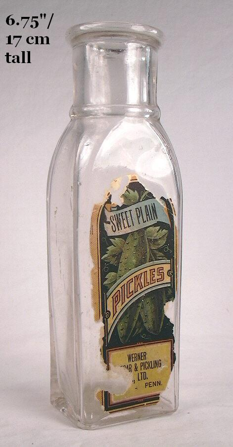 Hyperlink to an image of a capseat finish on a small pickle bottle.