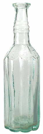 Well, Miller & Provost sauce bottle; click to enlarge.