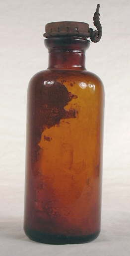 Packer utility bottle from the 1920s; click to enlarge.