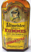 Kummel label close-up; click to enlarge.
