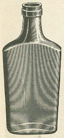1906 illustration of an Olympia flask; click to enlarge.