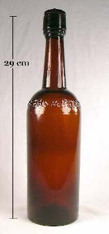 Weeks & Potter liquor bottle; click to enlarge.