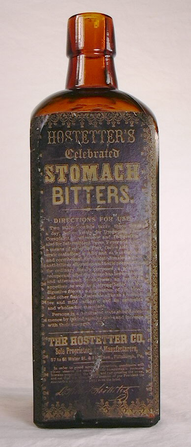 Hyperlink to a picture of the other Hostetter's label.