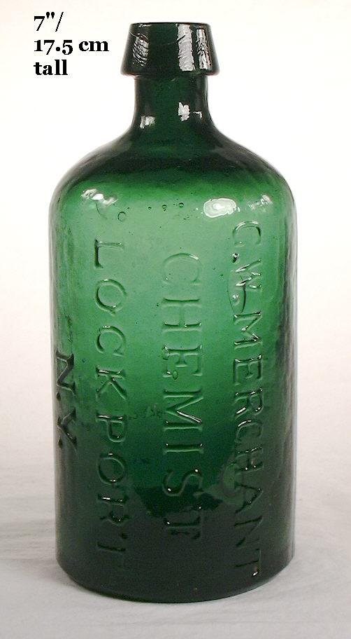 Hyperlink to an image of the cylinder Merchant's bottle.
