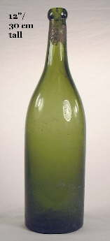 Apollinaris bottle from the early 20th century; click to enlarge.