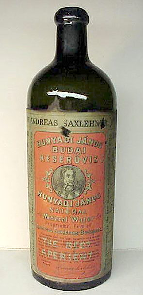 Hyperlink to an image of a Bitterquelle with original label.
