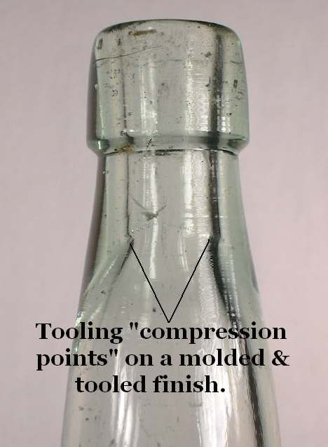 Hyperlink to view an image of the compression points on a molded & tooled finish