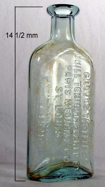 Hyperlink to a picture of a Groves Chill Tonic bottle